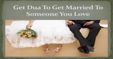 Dua For Marrying Someone You Love