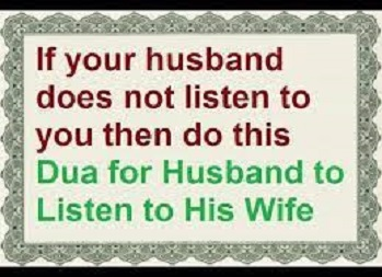 How To Make The Husband Listen To Wife